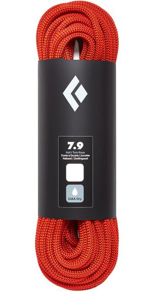 Black Diamond 7.9 Dry Rope 60m Orange